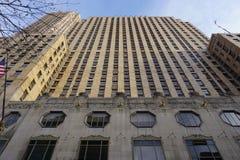 Historisch Hilton Netherland Plaza Hotel in de Carew-Toren, Cincinnati Royalty-vrije Stock Fotografie