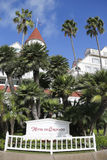Historisch Hotel Del Coronado in San Diego Stock Foto's