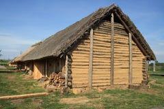 Historisch huis Royalty-vrije Stock Foto