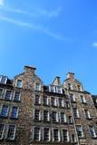 Historisch Huis in Edinburgh stock fotografie