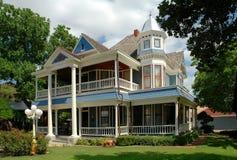 Historisch Huis in Granbury, Texas Royalty-vrije Stock Afbeeldingen