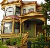 Historisch Huis in San Jose CA Stock Afbeeldingen