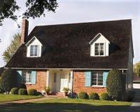 Historisch huis in San Jose CA Stock Foto's