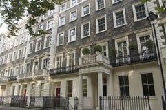 Historisch Huis van Lytton Strachey, Bloomsbury Stock Foto's