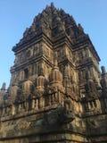 Historisch Indonesië Gesneden steen Architectuur Hindoese Tempel royalty-vrije stock foto