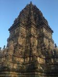 Historisch Indonesië Steen gesneden architectuur Hindoese Tempel royalty-vrije stock foto