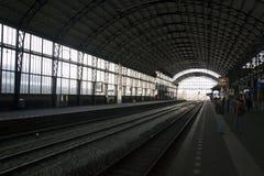 Historisch järnvägsstation Royaltyfri Foto