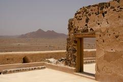 Historisch Jabrin-Kasteel, Oman royalty-vrije stock afbeelding