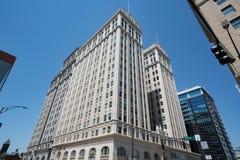 Historisch Jefferson Standard Building in Greensboro, NC royalty-vrije stock foto