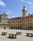 Historisch kasteel in Nesvizh Royalty-vrije Stock Foto's