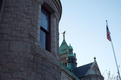 Historisch Lowell Massachusetts Royalty-vrije Stock Foto