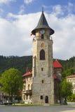 Historisch monument, middeleeuwse steentoren stock afbeeldingen