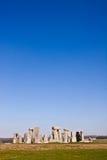 Historisch monument Stonehenge, Engeland, het UK Stock Foto's