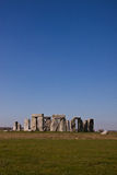 Historisch monument Stonehenge, Engeland, het UK Stock Fotografie