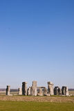 Historisch monument Stonehenge, Engeland, het UK Stock Afbeeldingen
