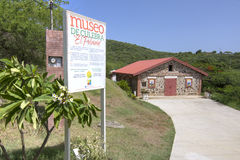 Historisch museum in Culebra Stock Fotografie