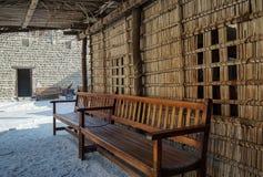 Historisch Museum in Doubai Uitstekend binnenland van het huis doubai De zomer van 2016 royalty-vrije stock fotografie