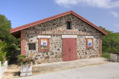 Historisch museum in Isla Culebra Royalty-vrije Stock Foto's