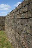 Historisch Niebla Fort in zuidelijk Chili Stock Fotografie