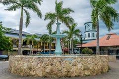 Historisch oriëntatiepunt in Falmouth, Jamaïca royalty-vrije stock foto's