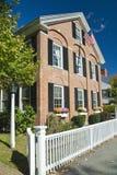 Historisch Oud Amerikaans Huis Royalty-vrije Stock Afbeeldingen