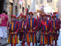 Historisch Paradeflorence Stock Foto's