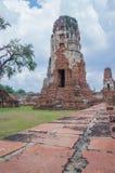 Historisch Park, Si Ayutthaya, Thailand van Phra Nakhon Stock Foto's