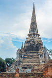Historisch Park, Si Ayutthaya van Phra Nakhon Stock Afbeeldingen