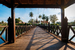 Historisch Park, Sukhothai Stock Afbeelding