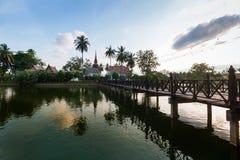 Historisch Park, Sukhothai Royalty-vrije Stock Foto's