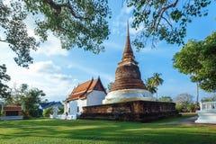 Historisch Park, Sukhothai Stock Foto