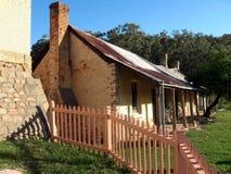 Historisch plattelandshuisje Stock Fotografie