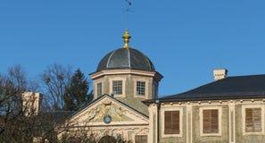 Historisch, Schloss Liebling mit Förch, in der Öffentlichkeit, frei zugänglicher Park, Rastatt im Schwarzwald stockbild