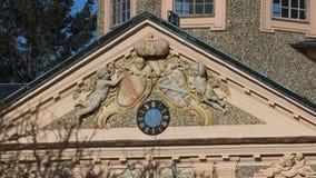Historisch, Schloss Liebling mit Förch, in der Öffentlichkeit, frei zugänglicher Park, Rastatt im Schwarzwald lizenzfreie stockfotos