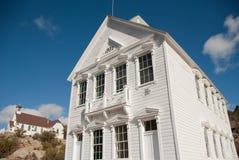 Historisch Schoolgebouw Royalty-vrije Stock Afbeelding