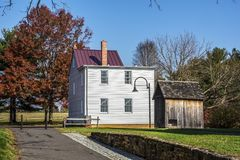 Historisch Smithville-Huis Royalty-vrije Stock Foto's