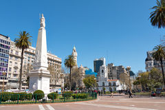 Historisch Stadhuis (Cabildo), Buenos aires Argentinien Royalty-vrije Stock Fotografie