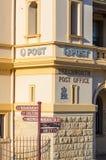 Historisch steenpostkantoor in Beechworth in Victoria, Australië royalty-vrije stock afbeeldingen