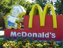 Historisch teken McDonald Royalty-vrije Stock Fotografie
