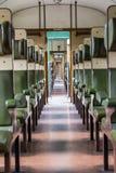 Historisch trein vooraanzicht Stock Fotografie