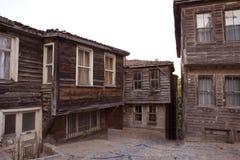 Historisch Turks huis Stock Afbeelding
