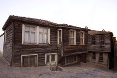 Historisch Turks huis Stock Fotografie