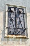 Historisch venster bij het kasteel Royalty-vrije Stock Afbeelding