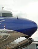 Historisch vliegtuig royalty-vrije stock fotografie