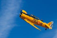 Historisch vliegtuig Stock Foto's