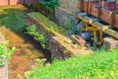 Historisch watermill in Duitsland stock fotografie