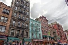 Historisch Weinig Italië in NYC, de V.S. stock foto