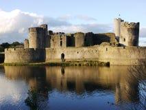 Historisch Wels Kasteel van Caerphilly Royalty-vrije Stock Fotografie