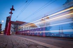 Historisch wroclawcentrum Stock Afbeelding
