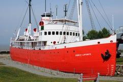 Historisch zeemuseum van l-Eilandje sur mer Royalty-vrije Stock Afbeeldingen